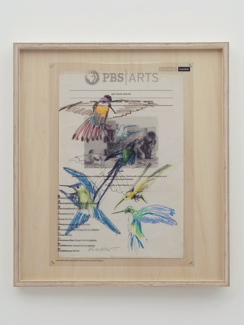 , 'Collaboration Study (Hummingbirds - Bob & Hum),' 2019, MISAKO & ROSEN