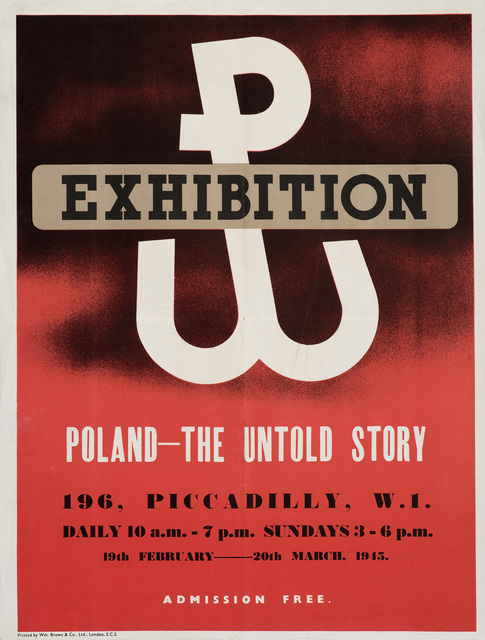 Unknown, 'Poland Uprising Exhibition Poster', 1945, Ben Uri Gallery and Museum