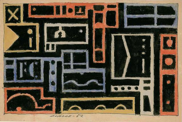 Gastón Olalde, 'Constructivo', 1952, Galería de las Misiones
