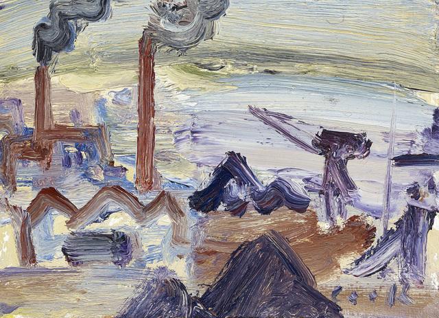 , 'Scrap Yard Study 1,' , The Scottish Gallery