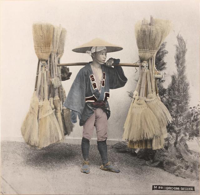 , 'Broom Seller ,' 2018, Vistamare