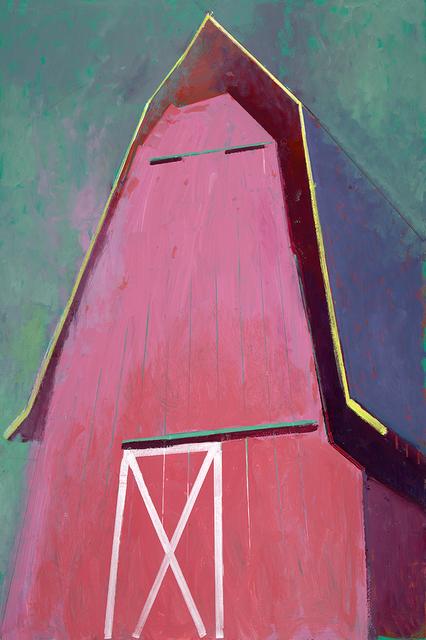 , 'Pink Barn X,' 2018, Sue Greenwood Fine Art