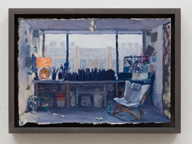 Christine Frerichs, 'Studio window, rain outside', 2019, Klowden Mann