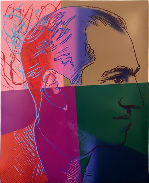 Andy Warhol, 'George Gershwin II.231 from the Ten Portraits of Jews of the Twentieth Century portfolio', 1980, Hamilton-Selway Fine Art