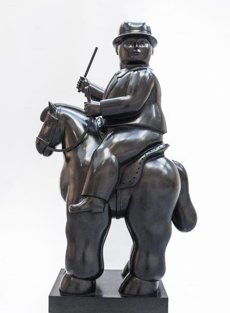 , 'Man on a Horse ,' , David Benrimon Fine Art