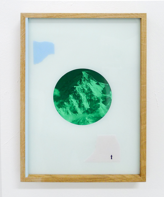 , 'Endurance Flag *t,' 2017, Galerie Kandlhofer