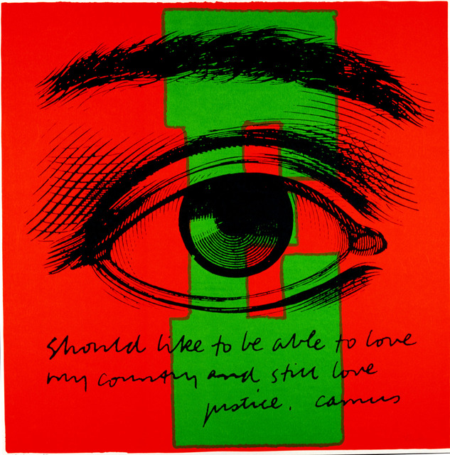 Corita Kent, 'E eye love', 1968, Kantor Gallery