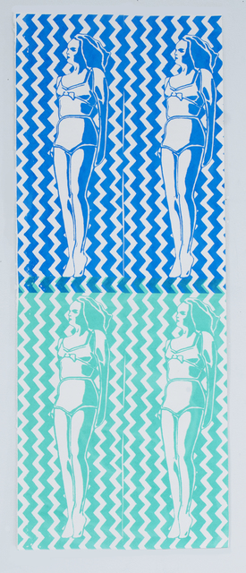 , 'Blue Green Goddess,' 2017, Page Bond Gallery