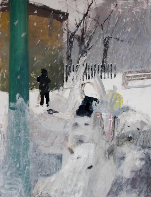 , 'Dog Park Pile Up,' 2017, Nancy Margolis Gallery