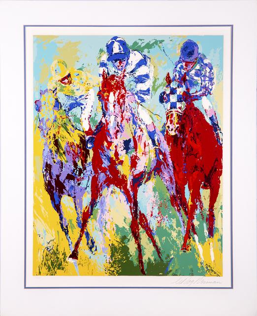 LeRoy Neiman, 'The Finish Horse Racing', 1974, Modern Artifact