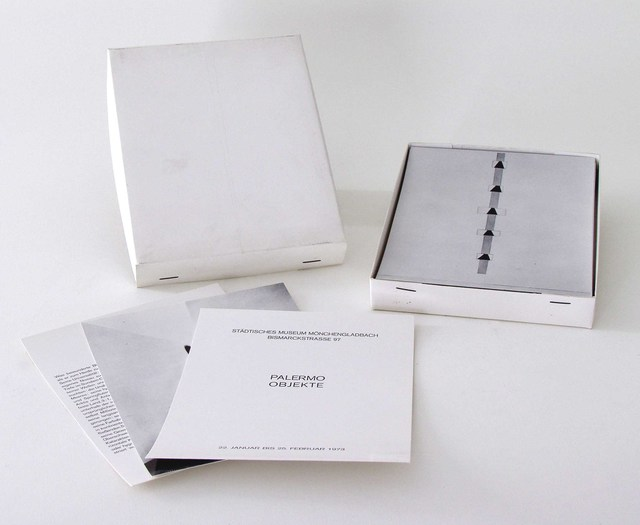 , 'Palermo Objekte (Monchengladbach Box),' 1973, Carolina Nitsch Contemporary Art