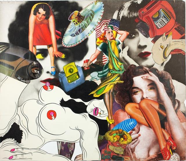 , 'Collage Book7_27 (1969-1975),' 1972, Nanzuka