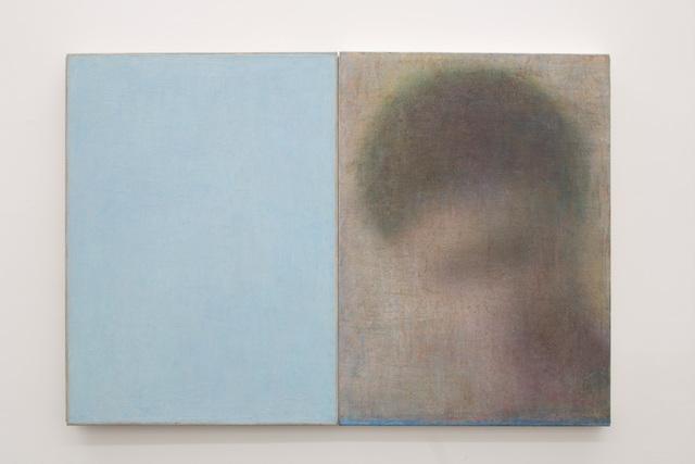 , 'Kopf + Blau,' 2015, Galleria Doris Ghetta