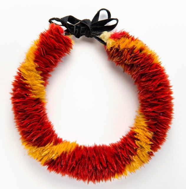 , 'Lei hulu (feather lei),' 19th century, de Young Museum