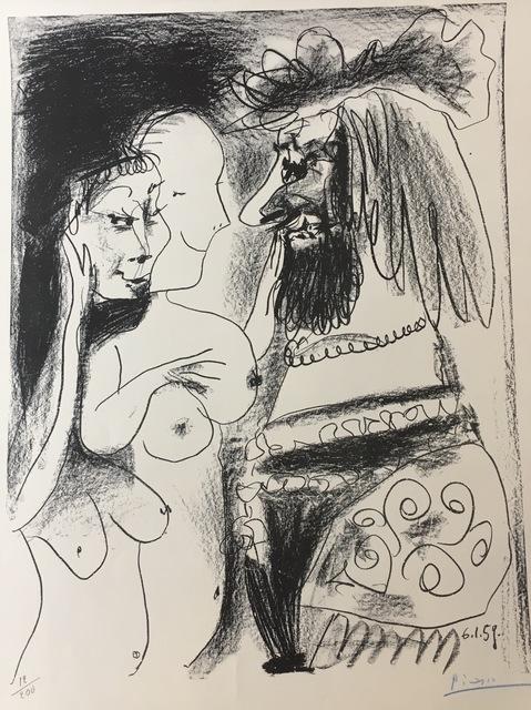 Pablo Picasso, 'Le Vieux Roi', 1959, Print, Lithograph, Galerie AM PARK