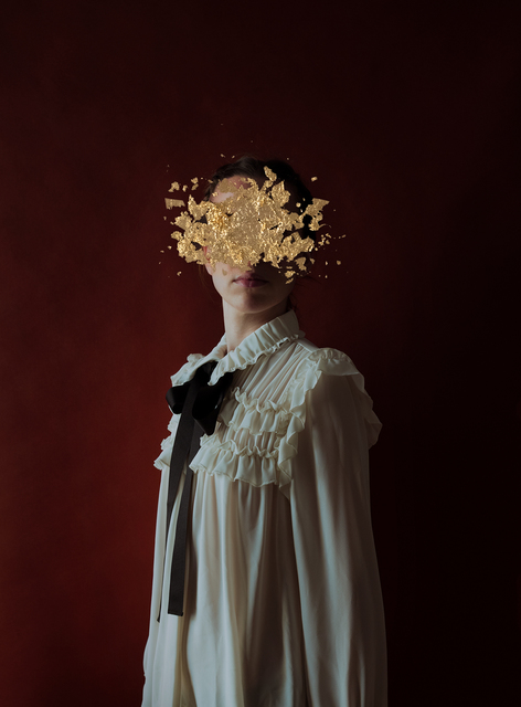 Andrea Torres Balaguer, 'Lion', 2018, Photography, Hahnemuhle Photo Rag Baryta paper and Acrylic Painting, Alzueta Gallery