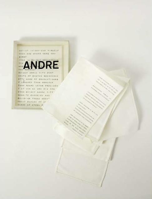 , 'Andre | Manchengladback, Stadtisches Museum,' 1968, G.Maffei - G.Galimberti