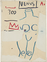 Jean-Michel Basquiat, 'Venus,' 1982, Phillips: New Now (February 2017)