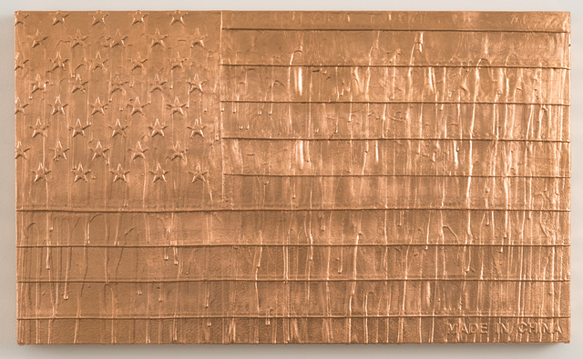 , 'Melting Copper Flag (Liberty),' 2012, Joshua Liner Gallery