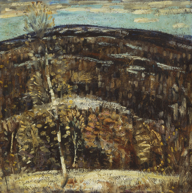 , 'The Hill ,' 1907-1908, Museum of Fine Arts, Boston