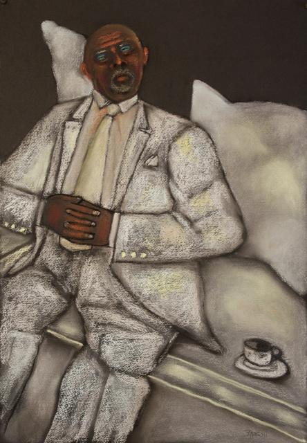 Stephen Basso, 'figure in white', ca. 2011, Tabla Rasa Gallery
