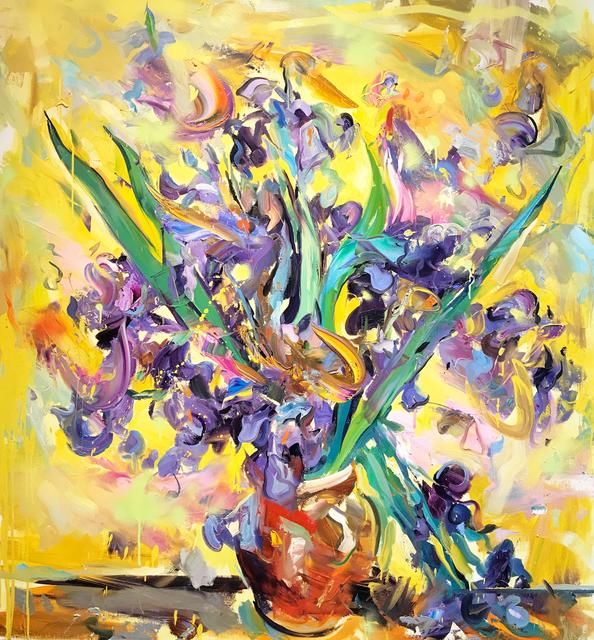 Paul Wright, 'Irises (After Van Gogh)', 2017, Maddox Gallery