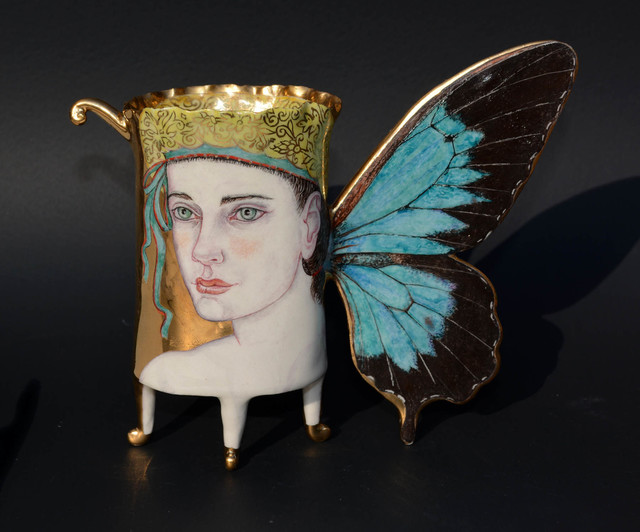 , 'Butterfly cup,' 2018, Recreational Enterprises & Perseus Gallery