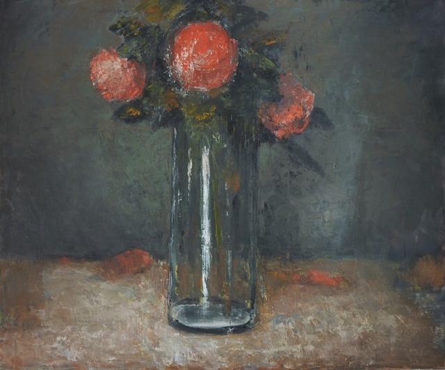 """, '""""Fleurs rouges"""",' 2016, Hugo Galerie"""