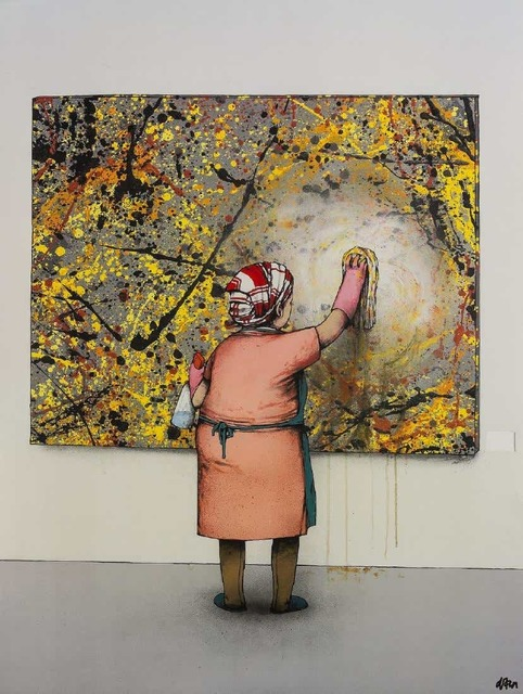 dran, 'Taches', 2012, Stowe Gallery