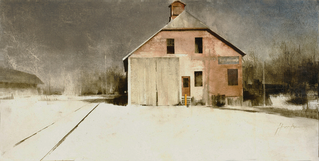 , 'Milford Freight House,' 2016, West Branch Gallery