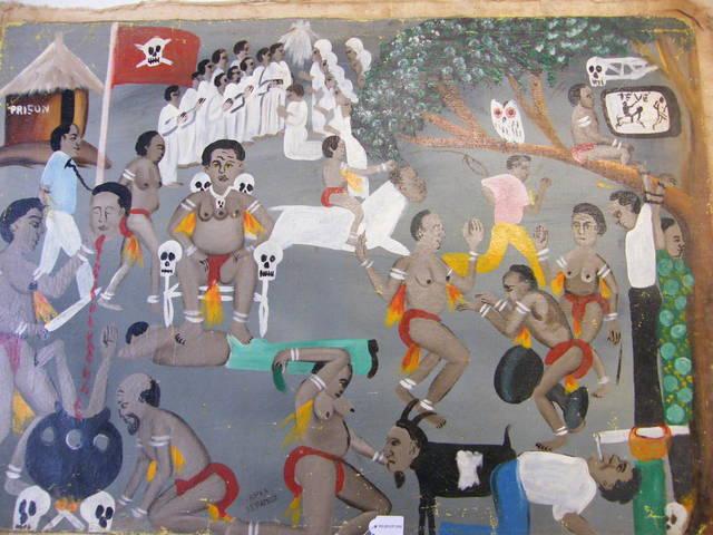 Akpa Lefameux, 'Sorcellerie ', Centre for Fine Arts (BOZAR)