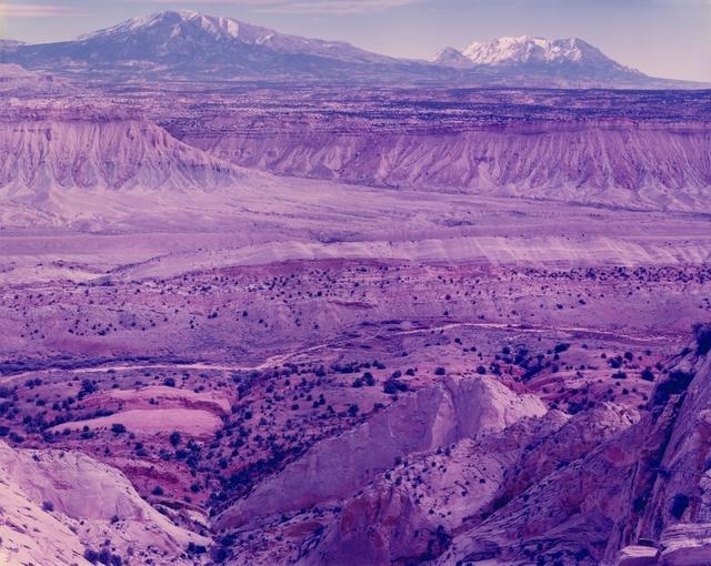 , 'Violent Deep Data Days Turned to Violet Dust, Escalante, Utah,' 2015, Moran Bondaroff