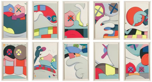 KAWS, 'Blame Game - Complete set of 10', 2014, Print, Screenprint, HOFA Gallery (House of Fine Art)