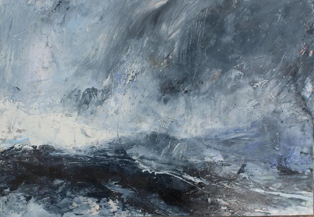 , 'Rain at Sea, Shetland,' 2018, Sladers Yard