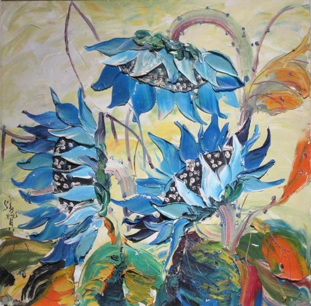 , 'Blue flames,' 2009, A-Art Shengzan Gallery
