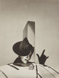 I love you' - Lisa Fonssagrives with hat by Balenciaga and gloves by Boucheron, Paris