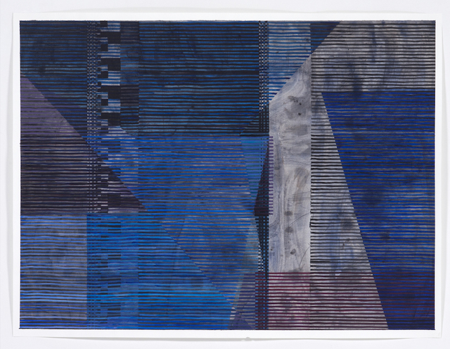 Melissa Casey, 'Blues Over Black', 2018, Kopeikin Gallery