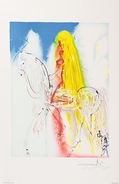 Salvador Dalí, 'Lady Godiva', 1983, Art Lithographies