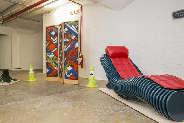 , 'Chaise cascade & Paravent à trois ventaux,' 2015-2016, Museum of African Design (MOAD)