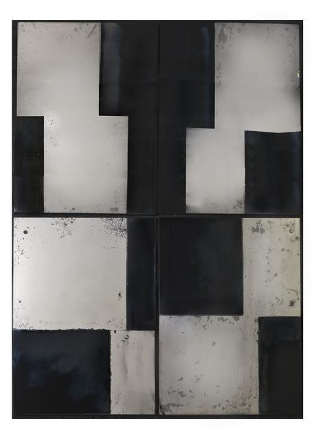 , 'Titan's Forge Set of Four Wall Mirrors,' 2014, Maison Gerard