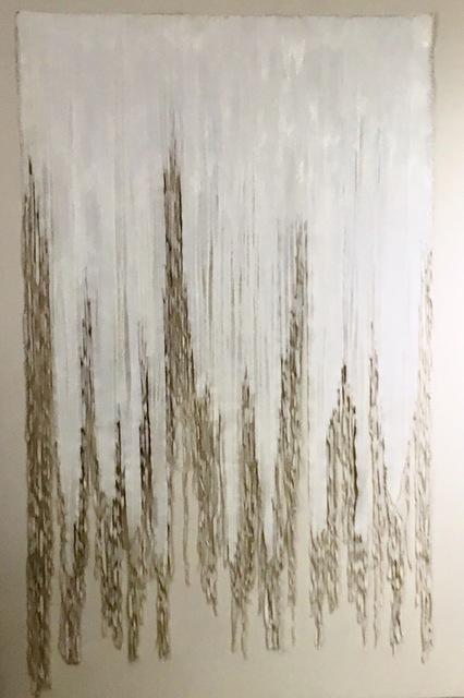 , 'Bianco 2,' 2018, Galleria Ca' d'Oro