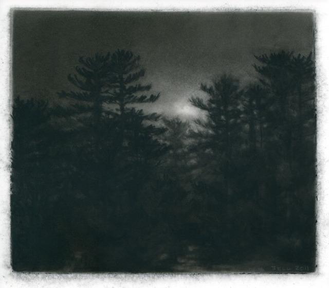 , 'Pines, Dusk,' 2011, DANESE/COREY