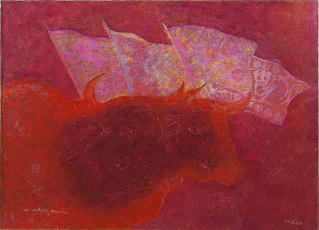 Luis Nishizawa, 'Festival', ca. 1975, Angela Tandori Fine Art