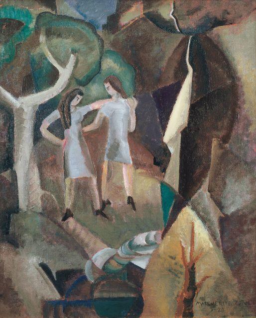 , 'Figures and Falls,' 1920, Debra Force Fine Art