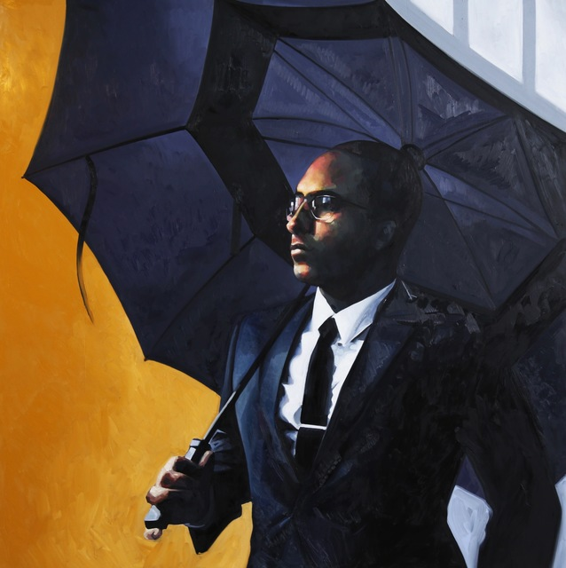 , 'Man in the rain,' , Fort Works Art