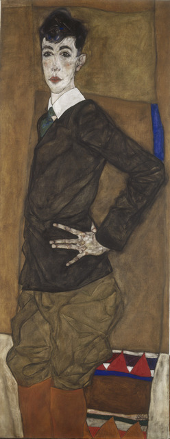 , 'Portrait of Erich Lederer,' 1912, The National Gallery, London