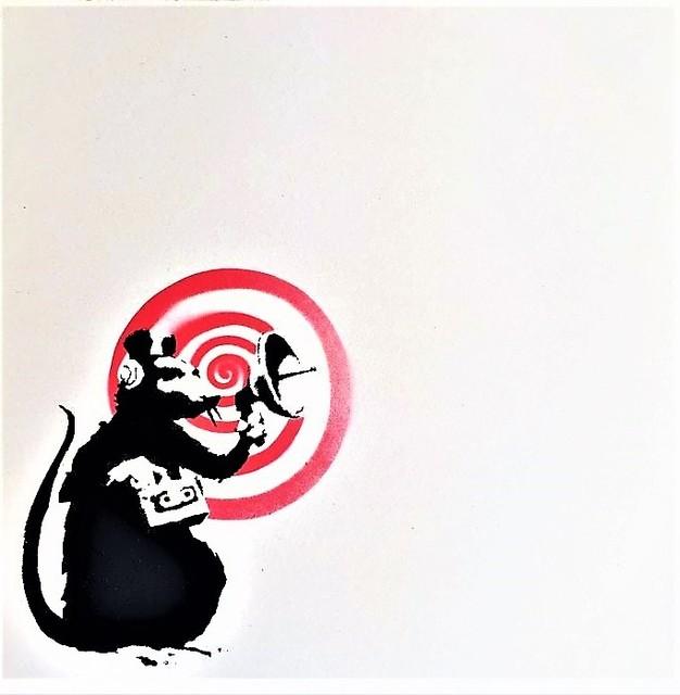 Banksy, 'Dirty Funker', 2008, AYNAC Gallery