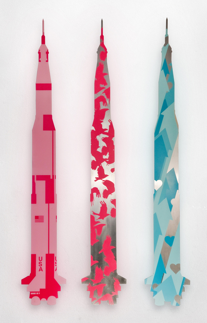 , 'Aluminum Rockets,' 2013, Cross Mackenzie Gallery