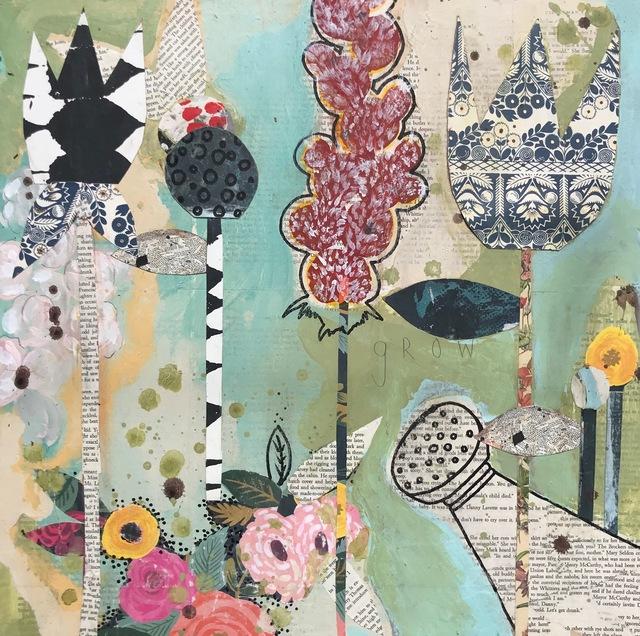 MARIE NAJERA, 'Blue Tulip', ca. 2018, Parlor Gallery