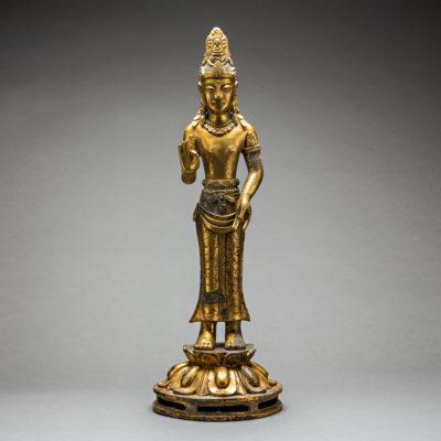 , 'Tibetan Guilt Bronze Figure,' 1800-1900, Barakat Gallery